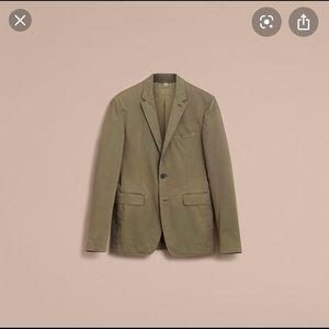 NWT Burberry Men's Cotton Blazer